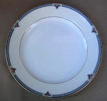 Make sure your browser can show photos and reload this page to see Noritake China Glendive 71227 Salad plate 7 1/2