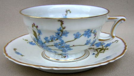 Make sure your browser can show photos and reload this page to see Haviland China Montmery Cup and saucer set