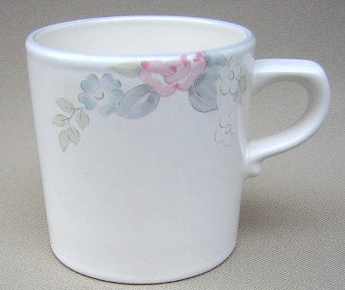 Make sure your browser can show photos and reload this page to see Pfaltzgraff China Wyndham Cup only (no saucer) 3 1/4