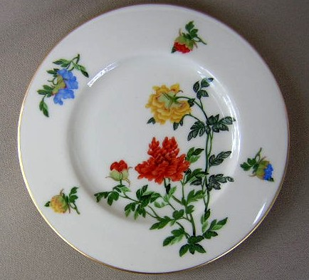 Make sure your browser can show photos and reload this page to see Castleton - USA China Ma Lin  Bread and butter plate