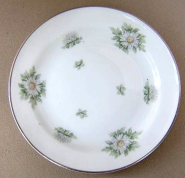 Make sure your browser can show photos and reload this page to see Franconia - Krautheim China Silver Thistle Bread and butter plate