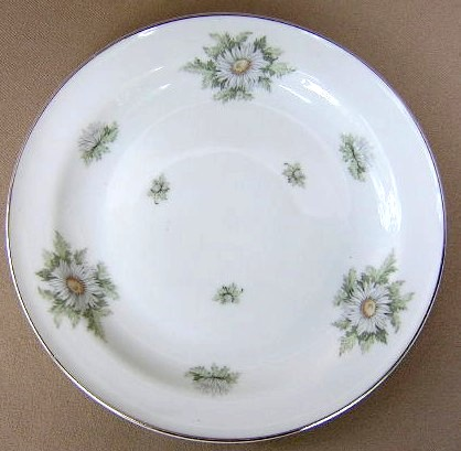 Make sure your browser can show photos and reload this page to see Franconia - Krautheim China Silver Thistle Dinner plate