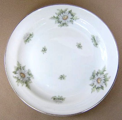 Make sure your browser can show photos and reload this page to see Franconia - Krautheim China Silver Thistle Salad plate