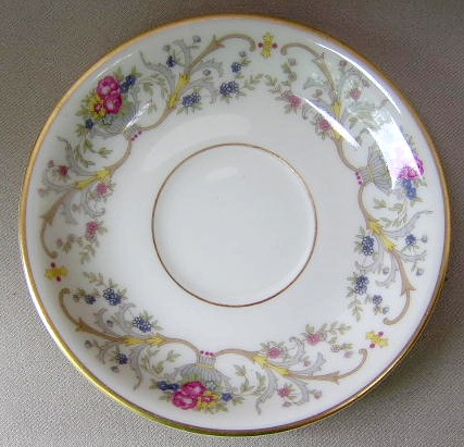 Make sure your browser can show photos and reload this page to see Lamberton China Dorothea  Saucer only