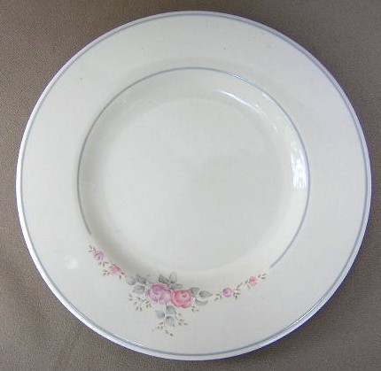 Make sure your browser can show photos and reload this page to see Pfaltzgraff China Trousseau Salad plate