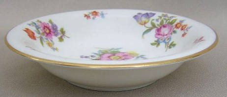 Make sure your browser can show photos and reload this page to see Lamberton China Linda Lee  Fruit/dessert bowl 5 1/4