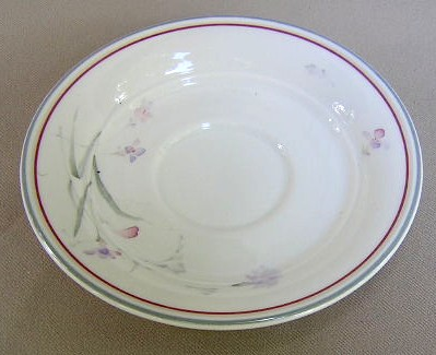 Make sure your browser can show photos and reload this page to see Noritake China River Oaks 9161 Saucer only 6 1/4