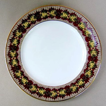 Make sure your browser can show photos and reload this page to see Lauren, Ralph-China Gatehouse  Salad plate