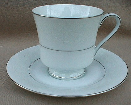 Make sure your browser can show photos and reload this page to see Celebrity China Mystique 6061 Cup and saucer set 3 1/8