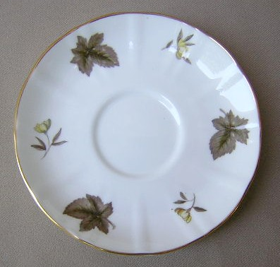 Make sure your browser can show photos and reload this page to see Royal Worcester China Dorchester - Scalloped  Saucer only