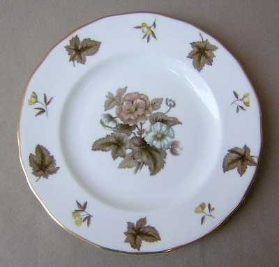 Make sure your browser can show photos and reload this page to see Royal Worcester China Dorchester - Scalloped  Salad plate scratches
