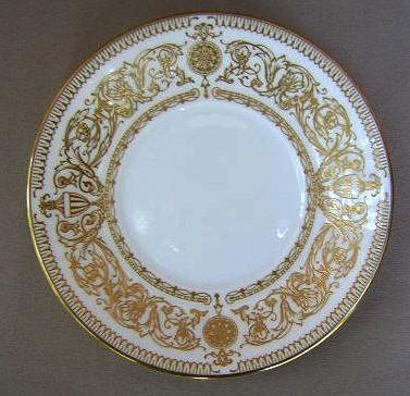 Make sure your browser can show photos and reload this page to see Royal Worcester China Hyde Park  Saucer only 5 3/4