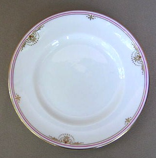 Make sure your browser can show photos and reload this page to see Royal Worcester China Royal Court  Bread and butter plate 6 1/8