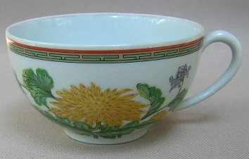 Make sure your browser can show photos and reload this page to see Haviland China Chrysantheme Cup only (no saucer)