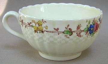 Make sure your browser can show photos and reload this page to see Spode China Hazel Dell S733 Cup only (no saucer)