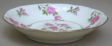 Make sure your browser can show photos and reload this page to see Haviland China Delaware Fruit/dessert bowl (NY)