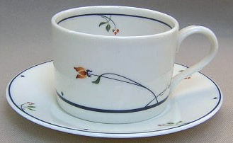 Make sure your browser can show photos and reload this page to see Gorham China Ariana Cup and saucer set