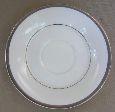 Make sure your browser can show photos and reload this page to see Spode China Silver Eternity Y8185 Saucer only