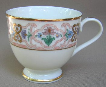 Make sure your browser can show photos and reload this page to see Gorham China Empress 713 Cup only (no saucer) 3 1/4