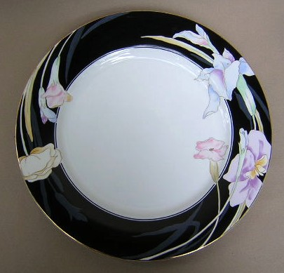 Make sure your browser can show photos and reload this page to see Mikasa China Charisma L9050/UP Chop/round platter 12 1/4