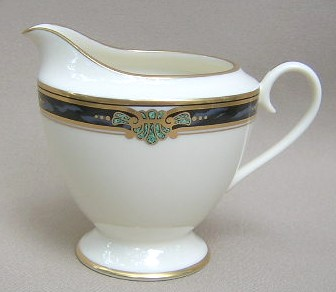Make sure your browser can show photos and reload this page to see Gorham China Huntington Creamer