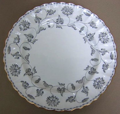 Make sure your browser can show photos and reload this page to see Spode China Colonel Y7144 Dinner plate