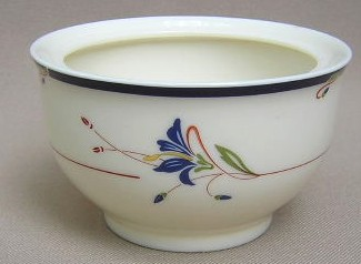 Make sure your browser can show photos and reload this page to see Gorham China Melon Bud Sugar bowl (no lid)