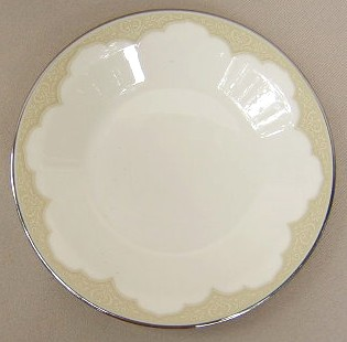 Make sure your browser can show photos and reload this page to see Franciscan China Castile Bread and butter plate