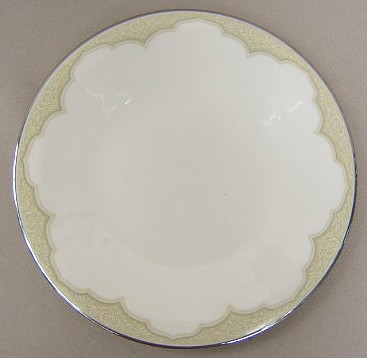 Make sure your browser can show photos and reload this page to see Franciscan China Castile Salad plate