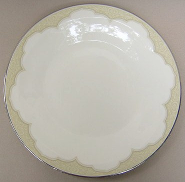 Make sure your browser can show photos and reload this page to see Franciscan China Castile Dinner plate 10 3/8