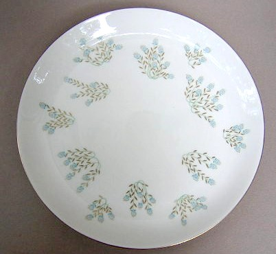 Make sure your browser can show photos and reload this page to see Castleton - USA China Cellini Dinner plate