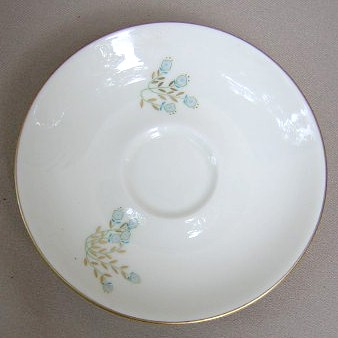Make sure your browser can show photos and reload this page to see Castleton - USA China Cellini Saucer only