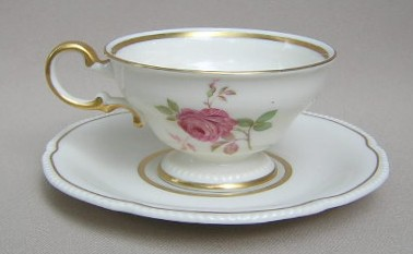 Make sure your browser can show photos and reload this page to see Castleton - USA China Dolly Madison  Cup and saucer set