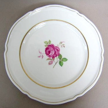 Make sure your browser can show photos and reload this page to see Castleton - USA China Dolly Madison  Dinner plate