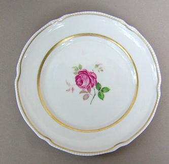 Make sure your browser can show photos and reload this page to see Castleton - USA China Dolly Madison  Salad plate