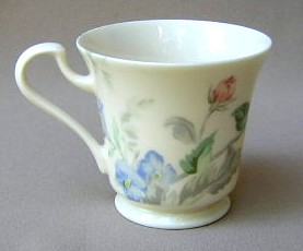 Make sure your browser can show photos and reload this page to see Oscar De La Renta China English Tapestry LF005/9604 Cup only (no saucer) 3 1/2