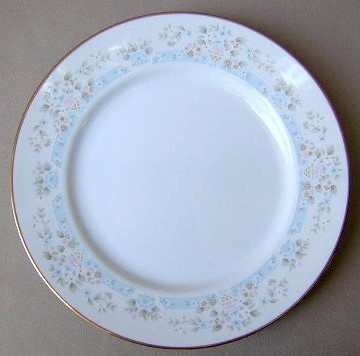 Make sure your browser can show photos and reload this page to see Lenox China Daisy Basket Dinner plate 10 1/2