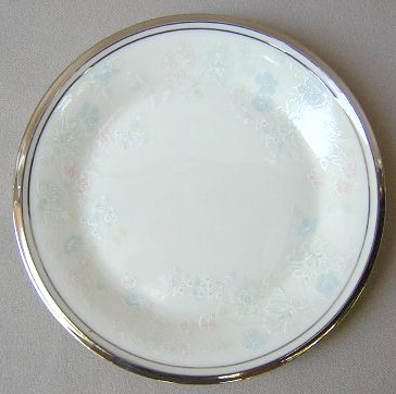Make sure your browser can show photos and reload this page to see Lenox China Nicole Bread and butter plate 6 3/8