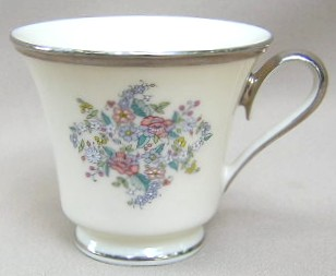 Make sure your browser can show photos and reload this page to see Lenox China Ascot Cup only (no saucer) 3 1/2