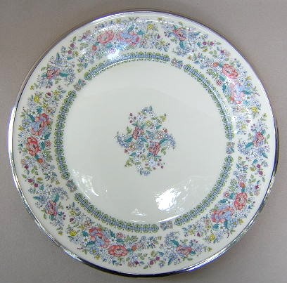 Make sure your browser can show photos and reload this page to see Lenox China Ascot Dinner plate 10 3/4