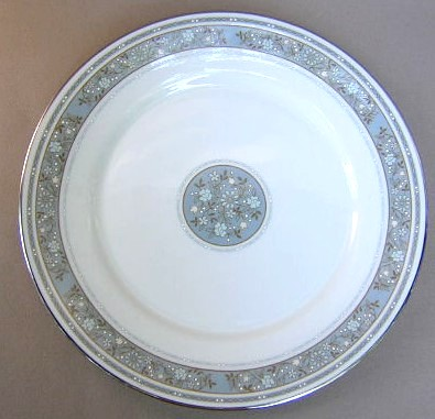 Make sure your browser can show photos and reload this page to see Oxford (Div Of Lenox) China Rendezvous Dinner plate