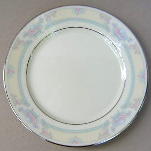 Make sure your browser can show photos and reload this page to see Lenox China Fairfield No # Bread and butter plate 6 1/2