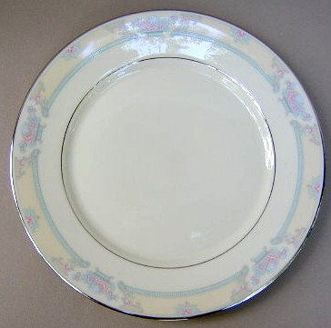 Make sure your browser can show photos and reload this page to see Lenox China Fairfield No # Dinner plate 10 3/4