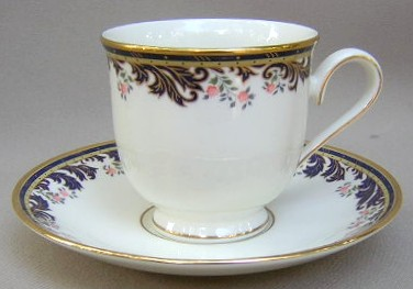 Make sure your browser can show photos and reload this page to see Lenox China Meadow Breeze Cup and saucer set 3 1/8