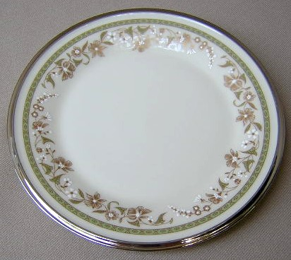Make sure your browser can show photos and reload this page to see Lenox China Fresh Meadow Bread and butter plate 6 3/8