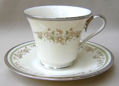 Make sure your browser can show photos and reload this page to see Lenox China Fresh Meadow Cup and saucer set 3 1/2