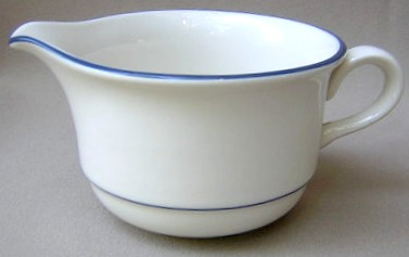Make sure your browser can show photos and reload this page to see Lenox China For The Blue Creamer