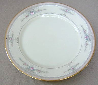 Make sure your browser can show photos and reload this page to see Lenox China Riverdale  Bread and butter plate 6 3/8