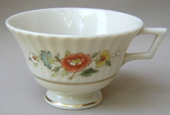 Make sure your browser can show photos and reload this page to see Lenox China Temple Blossom Cup only (no saucer) 2 1/2