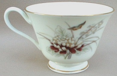 Make sure your browser can show photos and reload this page to see Oxford (Div Of Lenox) China Tranquility Cup only (no saucer) 3 3/4